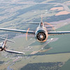 Wildcat joined by a FG-1D Corsair.