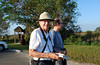 <b>Fred Test Starting Bird Walk</b> <i>-  Kay Larche</i>