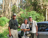 <b>Becky Garcia and Friends After Bird Walk</b> <i>-  Kay Larche</i>