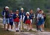 Description - Bird Walk <b>Title - Pat Canning leading Bird Walk</b> <i>- Charles O. Slavens </i>