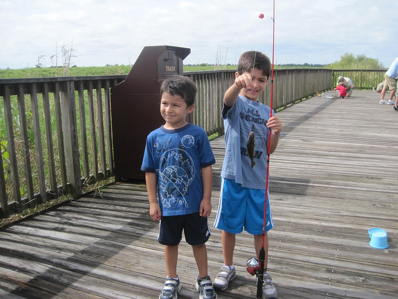 Kids' Fishing Day, June 9, 2012