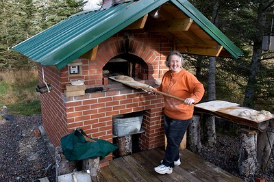 Breadmaking Wood fired Brick Oven