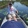 Description - On the Canoe Trail <b>Title - How My Son Spent His School Vacation</b> <i>- Shannon M. Burrows</i>