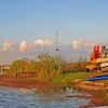 <b>Title - Pier, Boats, Sky and Canal</b> <i>- Leonard Friedman</i>