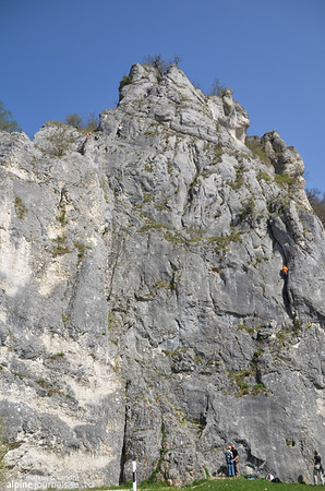 Aussichtsfels. Very accessible, just beneath the road.