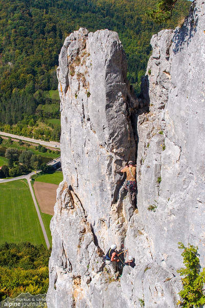 Eigerturm Westwand.