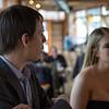 Simon and Emily at the bar at Terra Plata