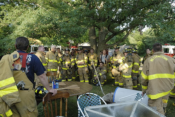 Drill at Old House Tuckahoe Road
