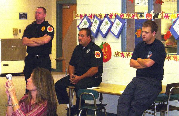 Fire Prevention at Holly Glenn School