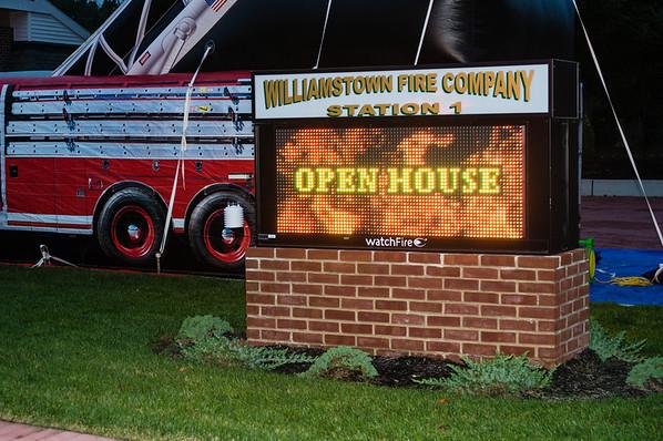 Open House Fire Prevention Week 2012