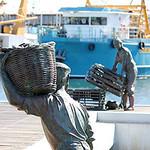Maritime_Craypots in Bronze_Lynda Haythornthwaite