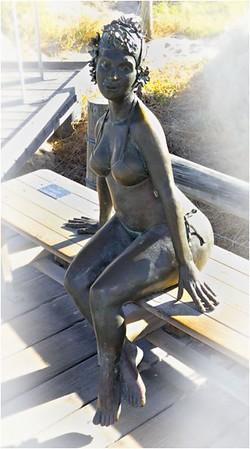 Artistic_Bronze Swimmer_Bruce Finkelstein