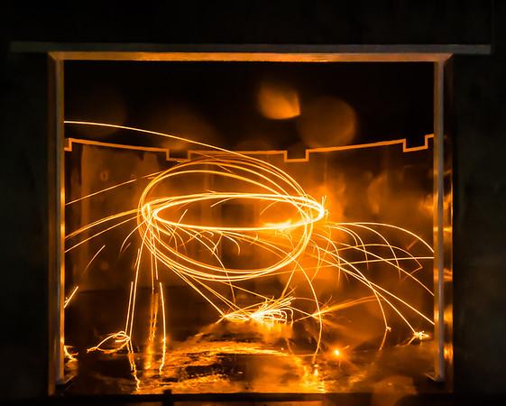 20160807 - Burning Steel Wool 005 - Kim McAvoy