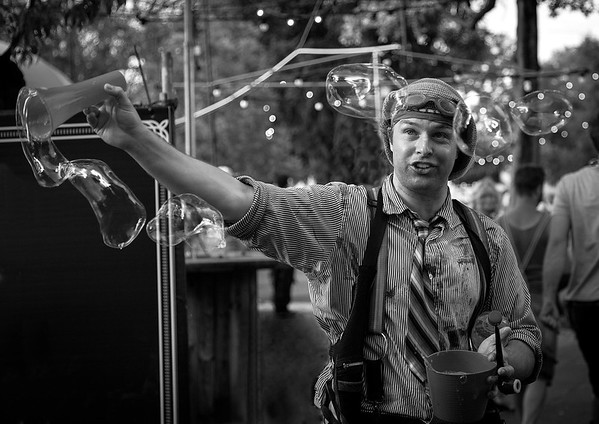 Bubble Man Lee Bickford