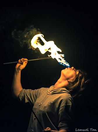 Fire Breathing - Lemuel Tan