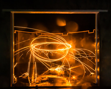 20160807 - Burning Steel Wool 005 - Kim McAvoy