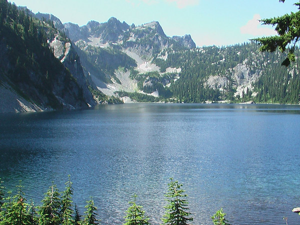 Hiking at Snow Lake (August 13, 2006)