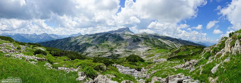 Hohe Ifen and the Gottesacker plateau.