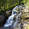 Waterfall at Melköde in Kleinwalsertal