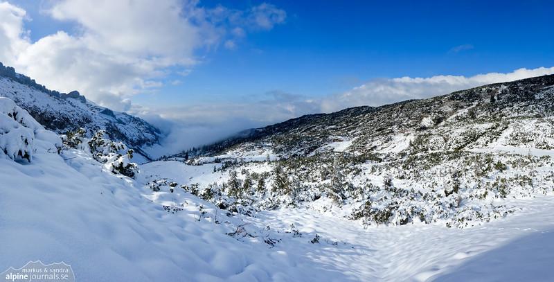Panorama from Windecksattel