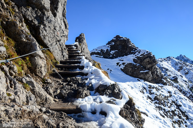 The path to Kanzelwand