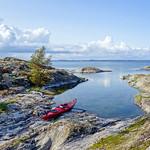 Landfjärden Mällsten Kayaking, Stockholm Archipelago