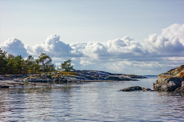 Archipelago north of Nåttarö.