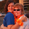 Jamie and Nancy at Light The Night - 17 Sept 2011