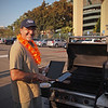 Jerry cooked hamburgers and hot dogs for all of the CML Busters at Light The Night - 17 Sept 2011