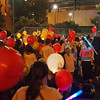 From parking lot into the stadium at Light The Night - 17 Sept 2011