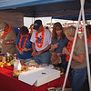 Lots to eat at CML Busters tent at Light The Night - 17 Sept 2011