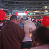 Entering the stadium on the field at Light The Night - 17 Sept 2011