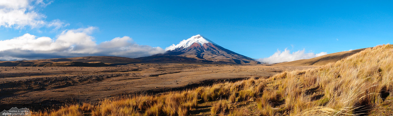 Cotopaxi in morning light