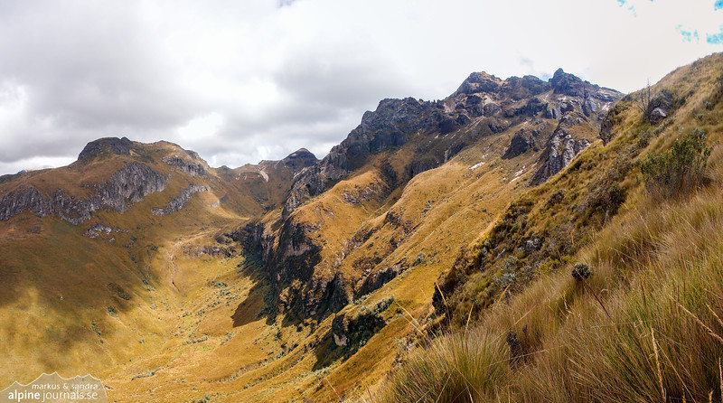 Pichincha Rucu from the south.