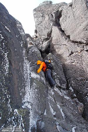 Final summit climb to Pichincha Guagua.
