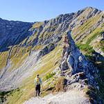 Kanzelwand, Hammerspitze, Hochgehrenspitze 2016-10-16