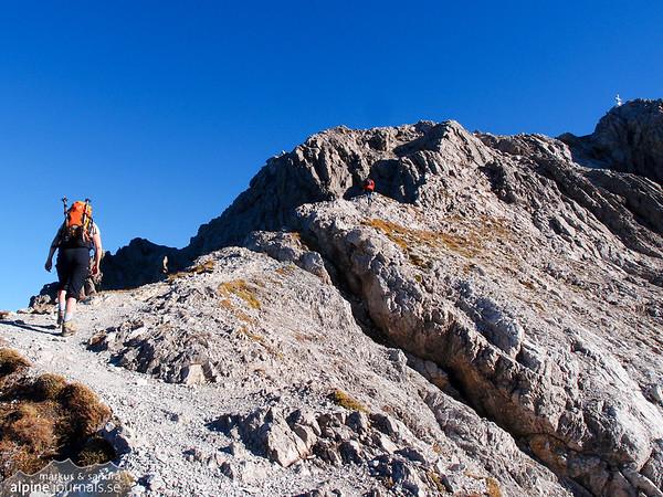 Grosser Widderstein summit in view