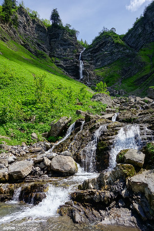 The waterfall of Subersach.