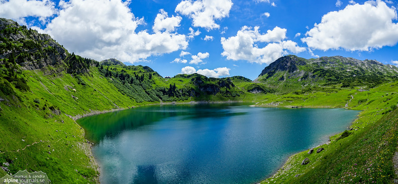 Formarinsee at Freiburger Hütte - this very day celebrated as the most beautiful place in Ausrtia! (voted by the people in 2015)