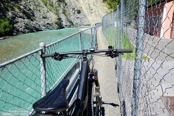 Unbikable bike path