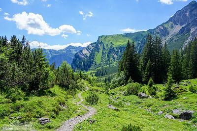 Single trail Freiburger Hütte - Dalaas