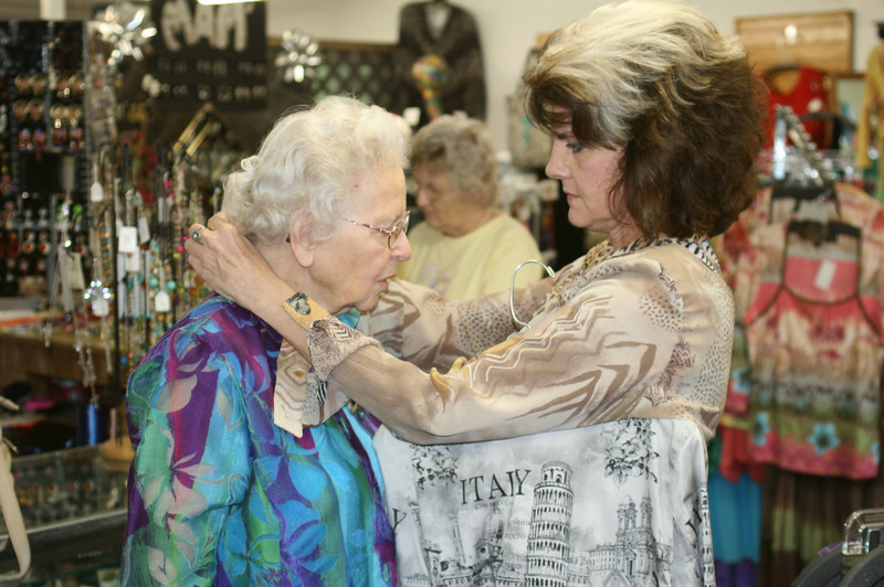 Jacquie, The Building's owner, worked with each of the ladies to personalize their look