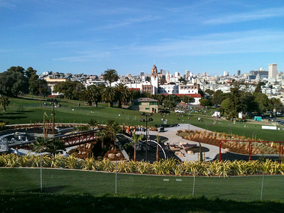 The new Dolores Park Playground
