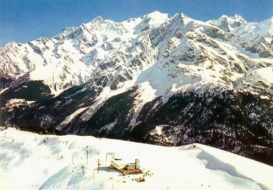 """""""Signal"""" 2338m und massif du mont blanc 4807m"""