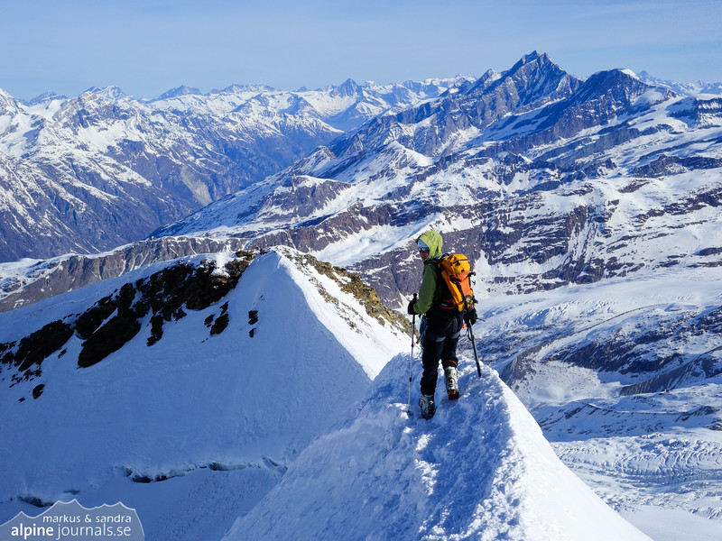 Castor summit ridge