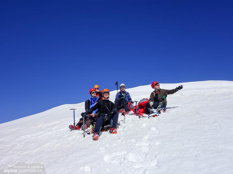 Roccia Nera summit