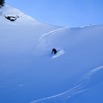 Derrarinne ski tour, Baad, Kleinwalsertal 2017-02-07