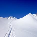 Güntlespitze Grünhorn ski tour, Kleinwalsertal 2016-02-26
