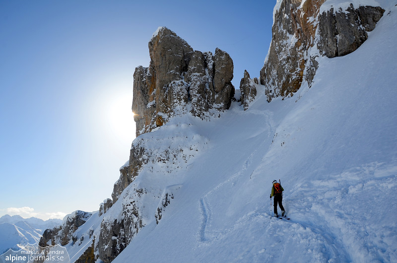 Hohe Ifen winter ascent