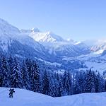 Kuhgehrenspitze ski tour, Kleinwalsertal